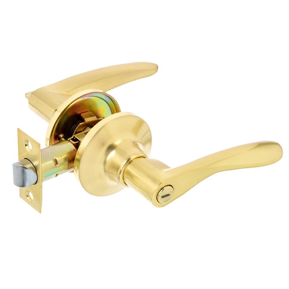 LARS Замок 0763-03 матовое золото c фиксатором