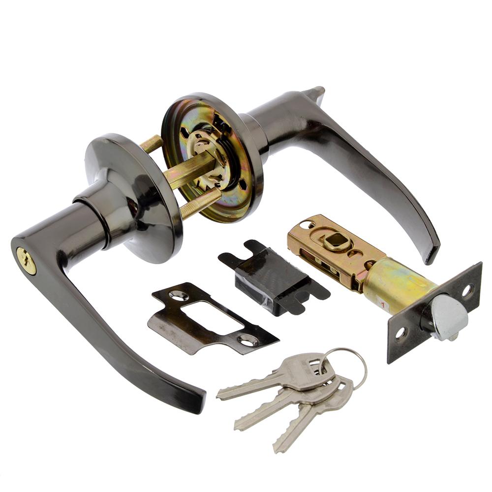LARS Замок 3182-01 графит с ключом