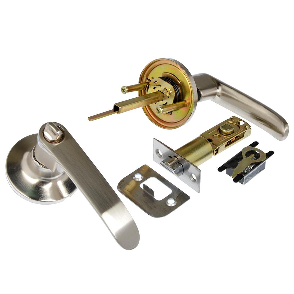 LARS Замок 8082-01 матовый хром с ключом