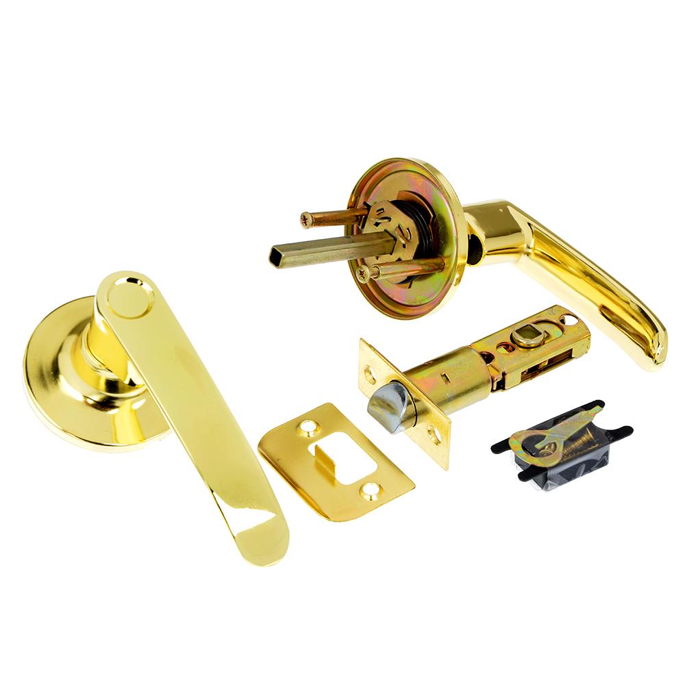LARS Замок 8082-05 золото без ключа, без фиксатора