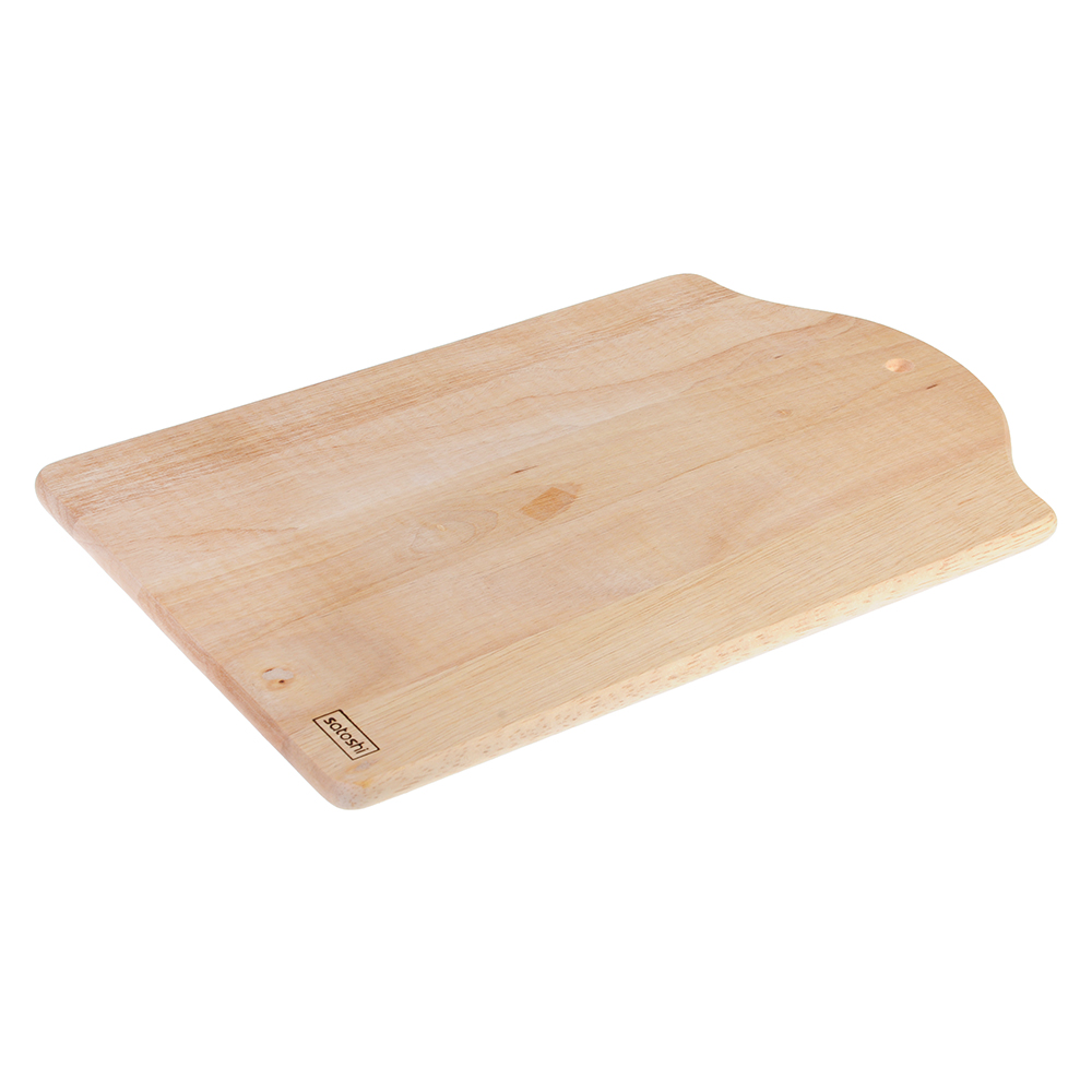 Доска разделочная деревянная SATOSHI, гевея, 34x23x1 см