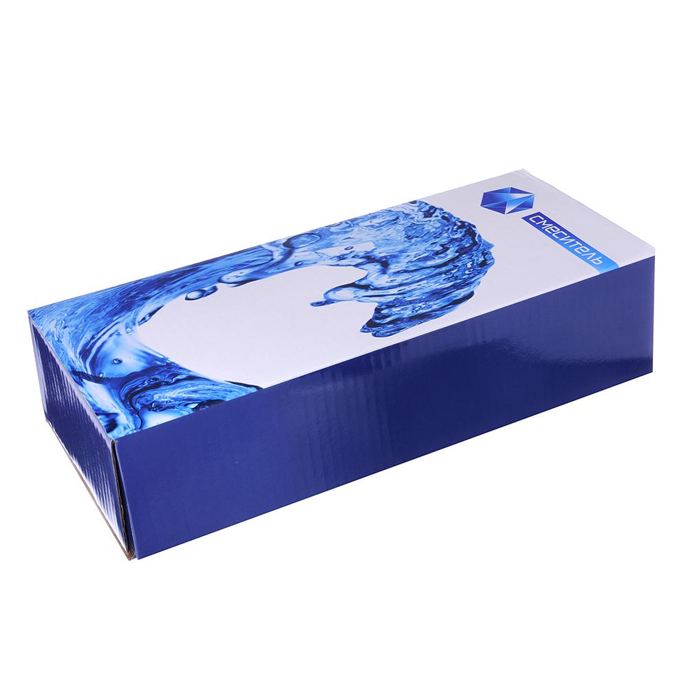 """Смеситель Quartz HH10 для ванны дл. излив, керам. кран-буксы 1/2"""", хром D"""