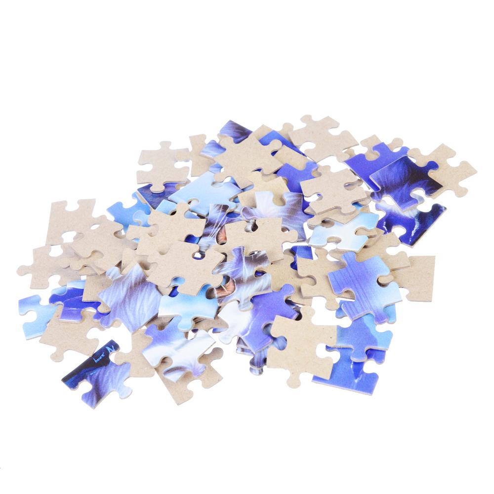 РЫЖИЙ КОТ Пазлы 80 деталей микс, картон, 16,5х22,5см, 16 дизайнов, П-80-1489