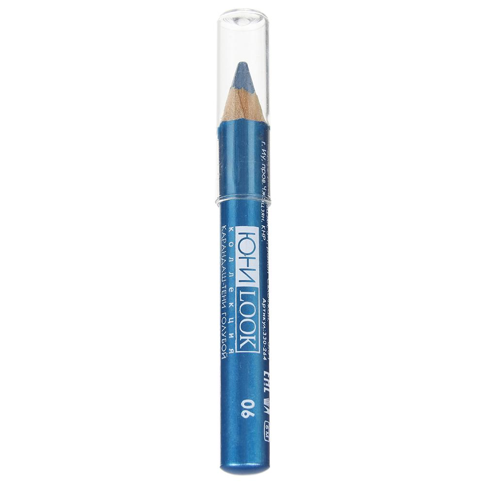 Тени-карандаш тон 06 голубой, 3,5 г, ЮниLook ТК-19