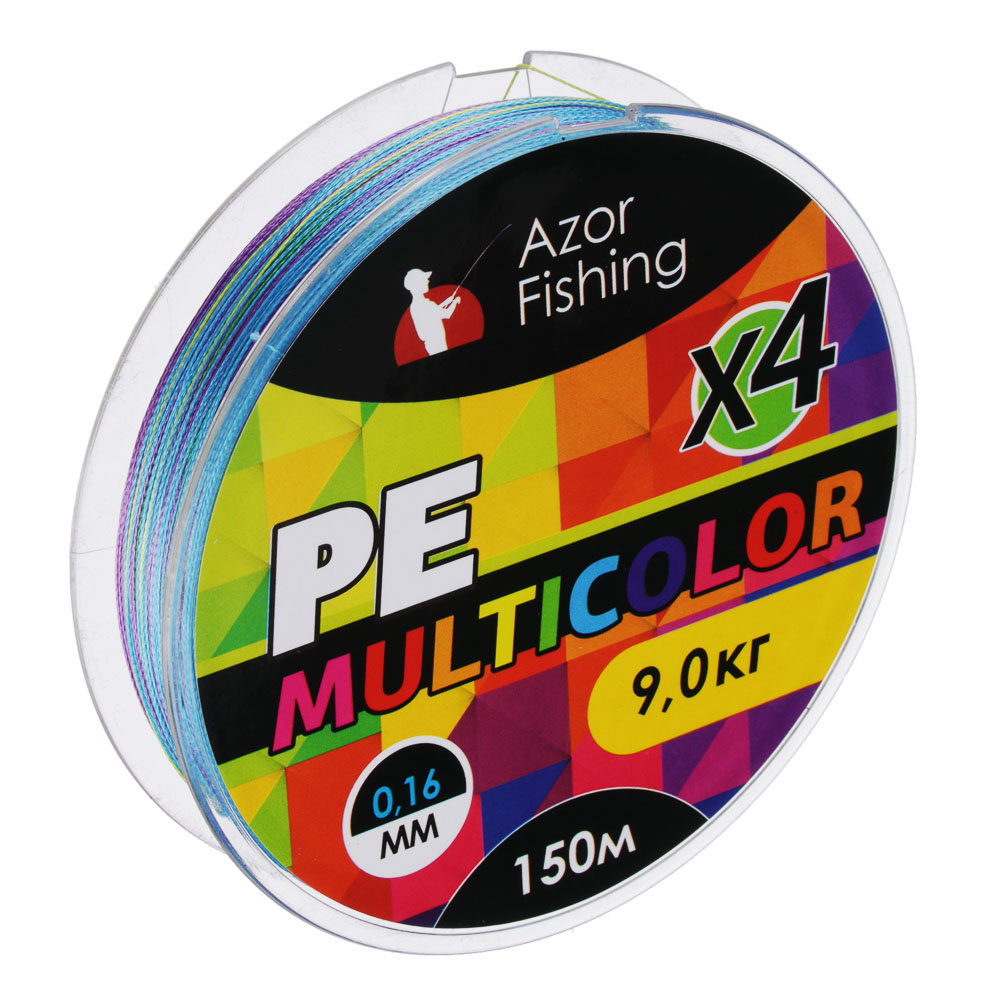 Леска плетеная PE Премиум 4 нити,нагрузка 10,5кг, 0,165мм, 150м