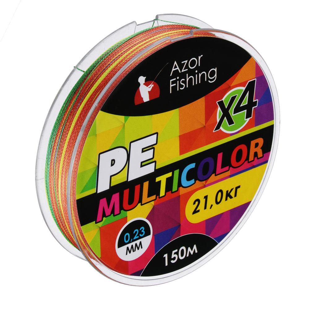 Леска плетеная PE Премиум 4 нити,нагрузка 21кг, 0,20мм, 150м
