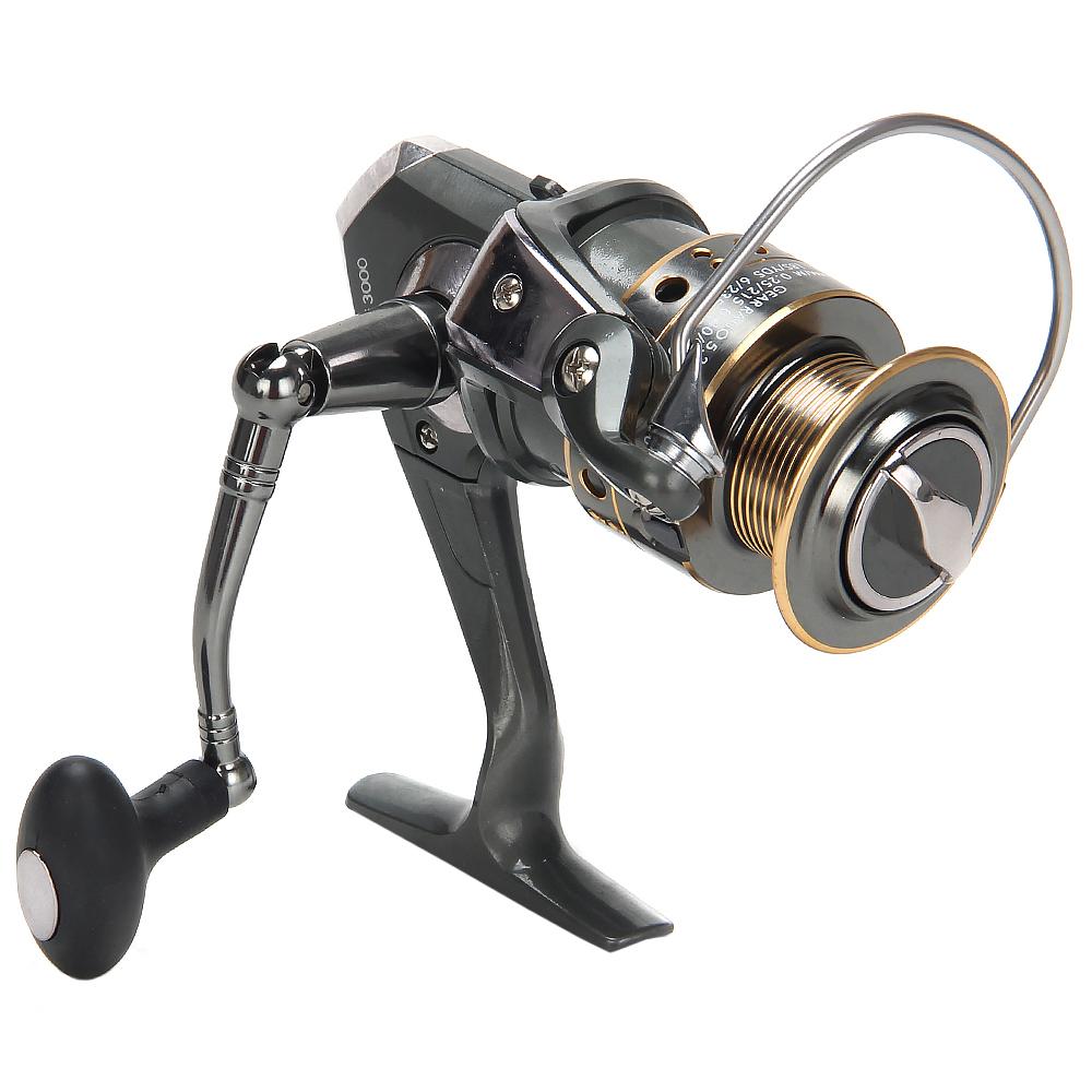 Катушка безынерционная FISHING ПРО 5, 3000, передний фрикцион, металлическая шпуля