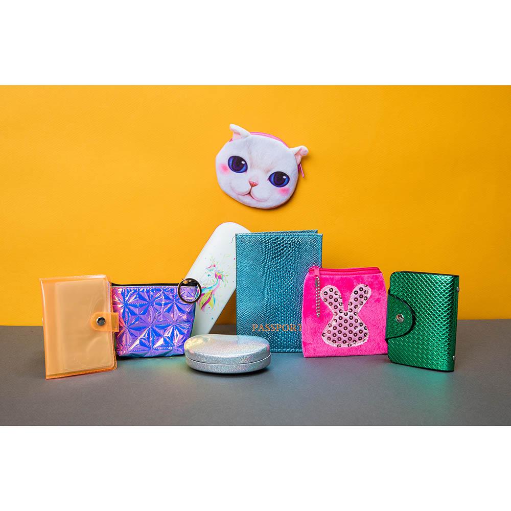 Футляр для детских коррекционных очков, пластик АБС, 16х6см, 5 дизайнов, ЧОК18-7