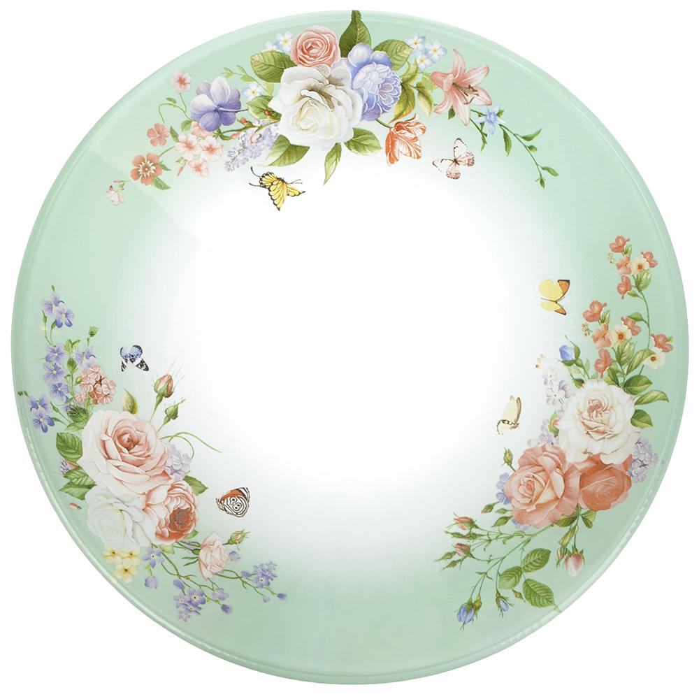 Нежное цветение Салатник стекло 178мм, S302007