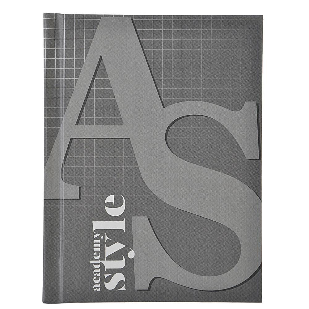 "Записная книжка А6 96л., твердая матовая обл., 7БЦ, резинка, в клетку, ""AS-style"", ЕАС-8385"