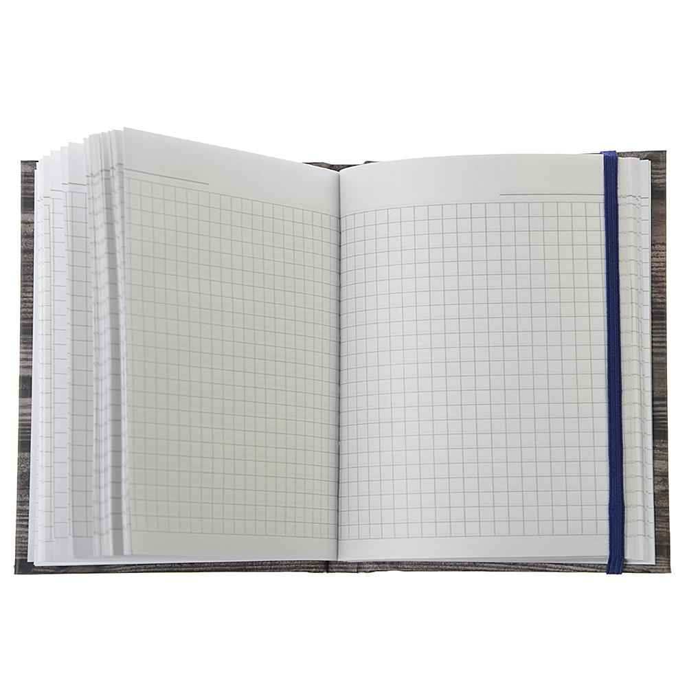 """Записная книжка А6 96л., твердая матовая обл., 7БЦ, резинка, в клетку, """"Фото в рамке"""", ЕАС-8386"""