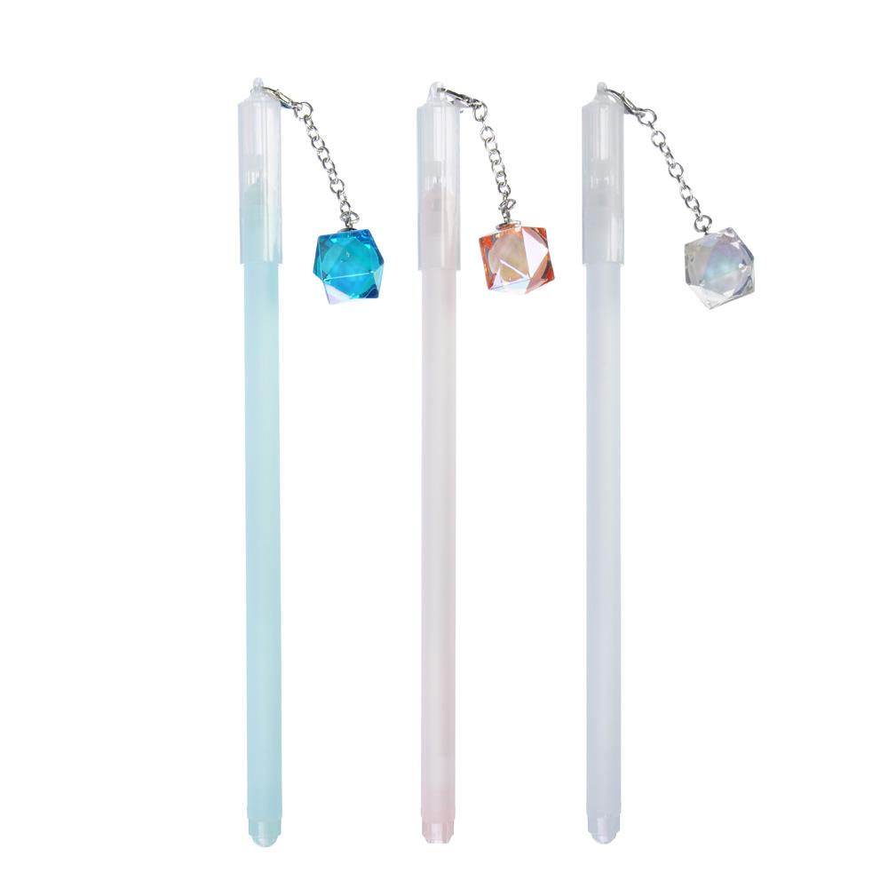 Гелевая ручка с подвеской-кристаллом, 3 цвета LADECOR