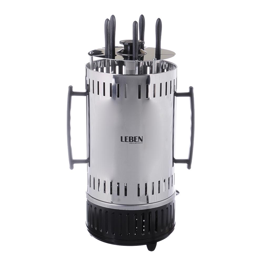 LEBEN Электрошашлычница, 5 шампуров, GH8601, 1 000 Вт