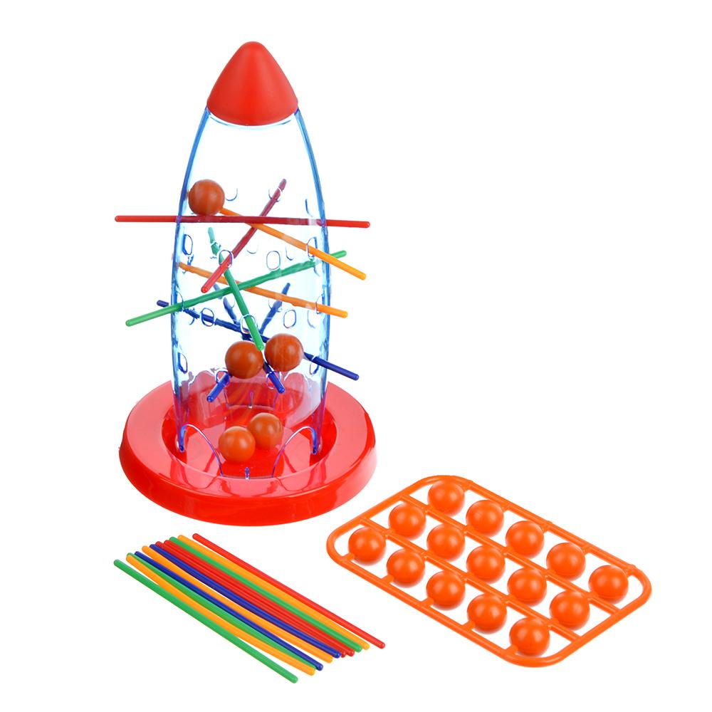 ИГРОЛЕНД Настольная игра «Морской бой», «логическая», «Падающие шары», пластик, 20х14,5х4,5см