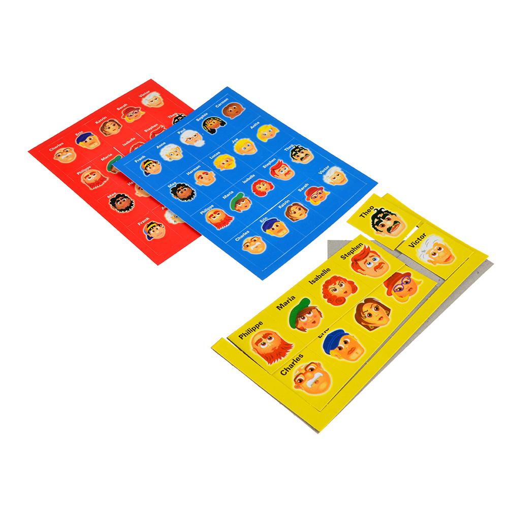 Настольная игра Логическая: Догадайся кто/Линия, пластик,20х14,5х4,5см