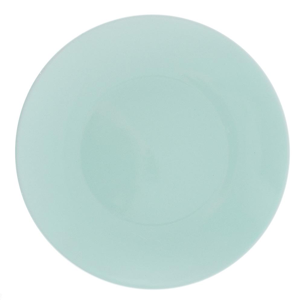 """Тарелка десертная d.20 см, керамика, бирюзовая, """"Глянец"""""""