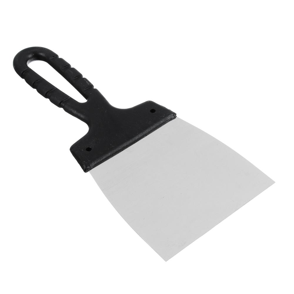 HEADMAN Шпатель металл (нерж.)., пластиковая ручка 100 мм