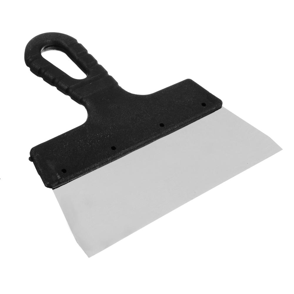 РОКОТ Шпатель металл (нерж.), пластиковая ручка 200 мм