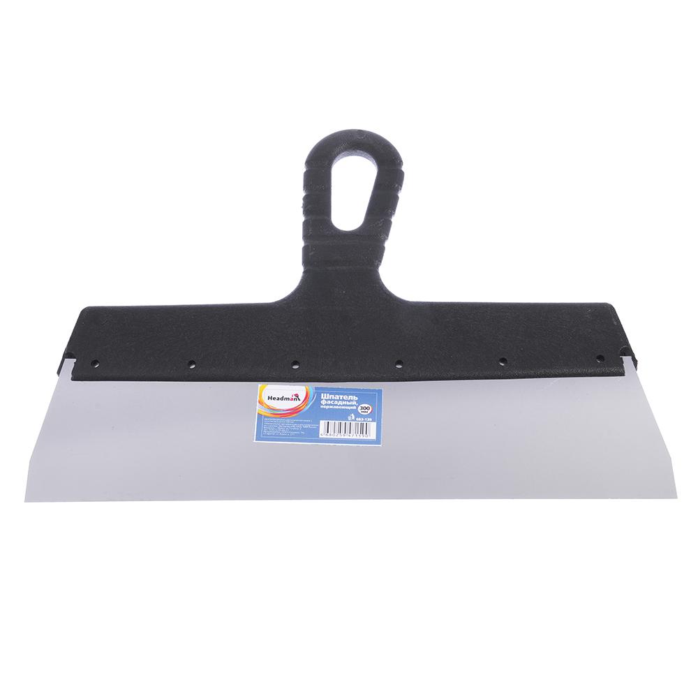 HEADMAN Шпатель металл (нерж.)., пластиковая ручка 300 мм