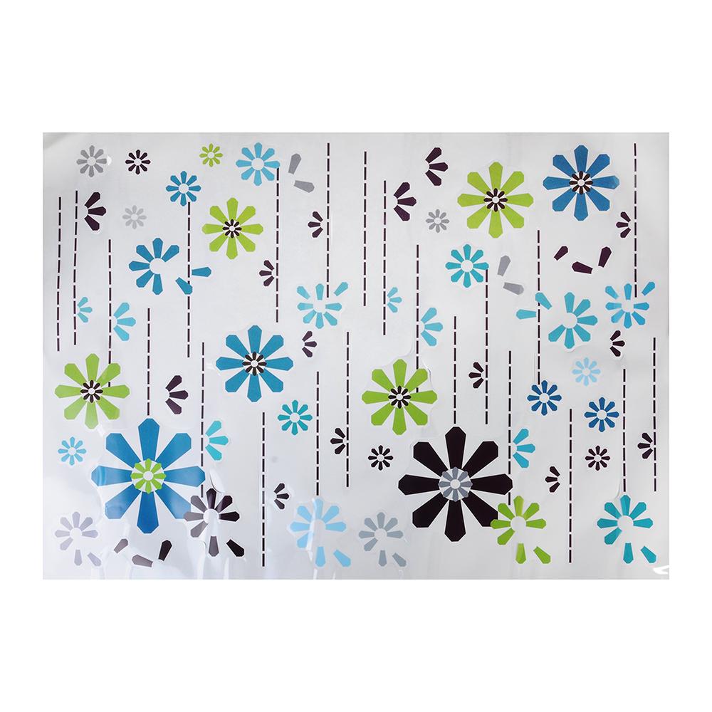"""Наклейка на стену декоративная, ПВХ, 50x70см, """"Цветы"""""""