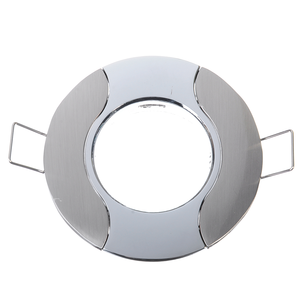 FORZA Светильник встраиваемый литой, № 32 лампа MR16, цоколь GU 5.3, d 80 мм, цинк алюминий