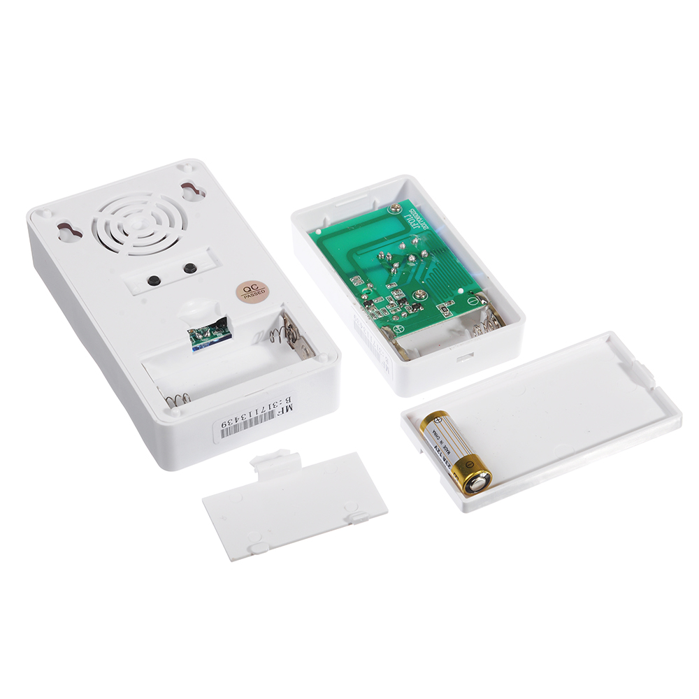 FORZA Звонок дверной, беспроводной 36 мелодий, 2х1,5V, ААА, 1х12V, 23 А LED-индикатор, 85Дб, до 100м