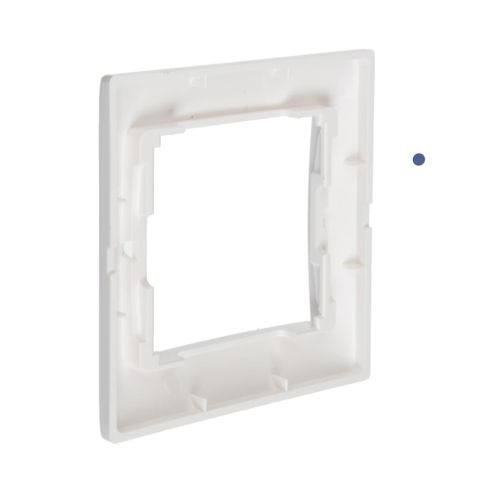 FORZA Элит Рамка одноместная горизонтальная, пластик ABS, белый