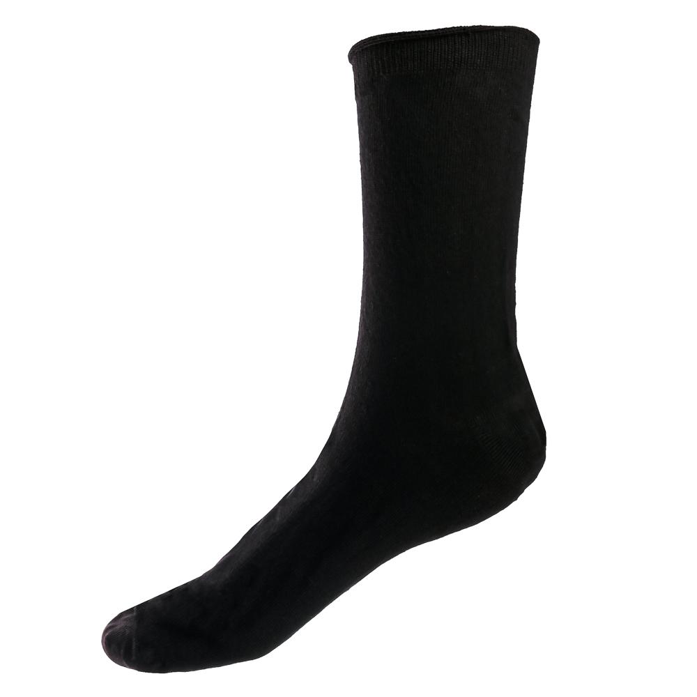 Носки мужские в консервной банке, р 41-43, 9,5х7,6 см, х/б-85% ПА-10% эластан5%, металл