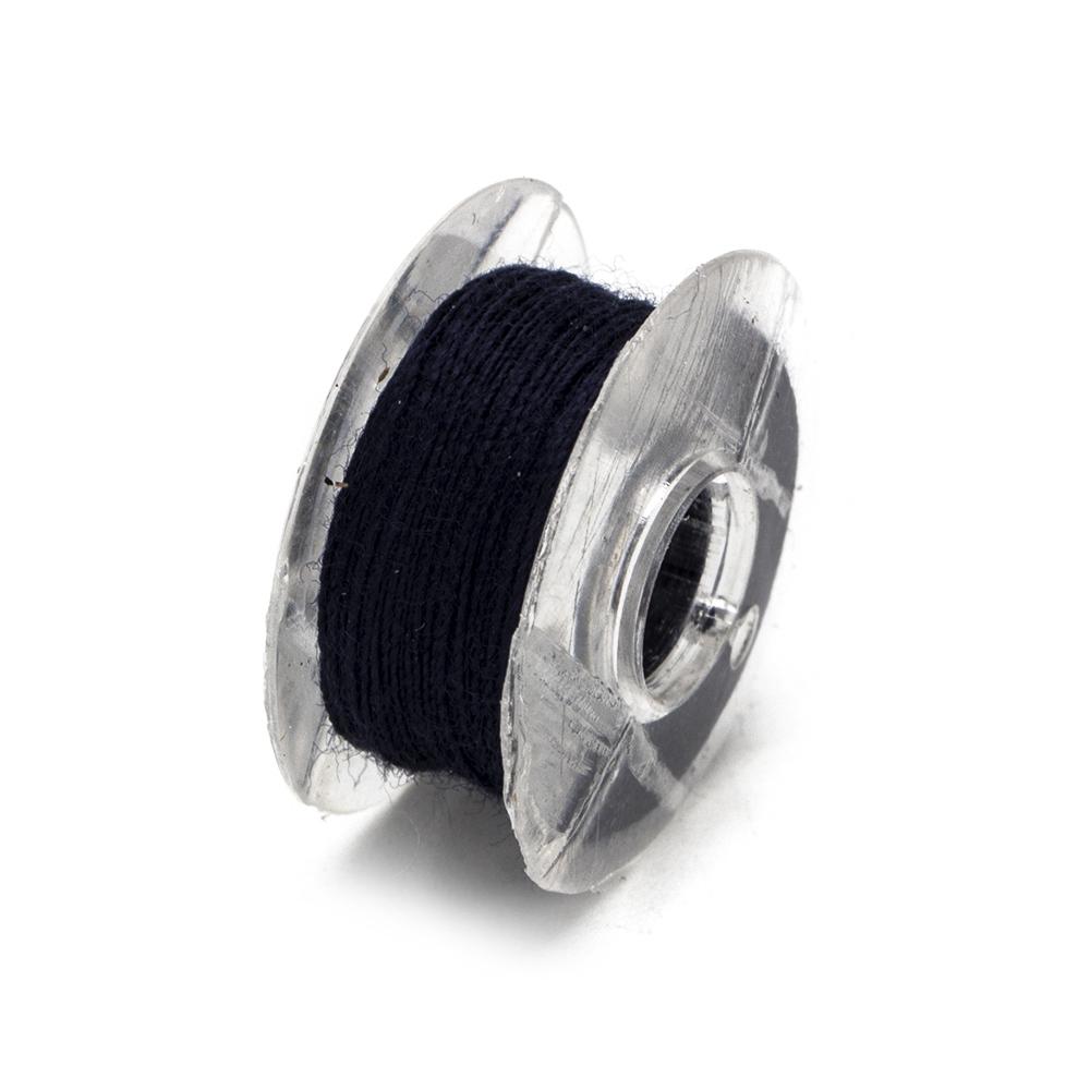 Набор шпулек для швейной машины с нитками 6шт, пластик
