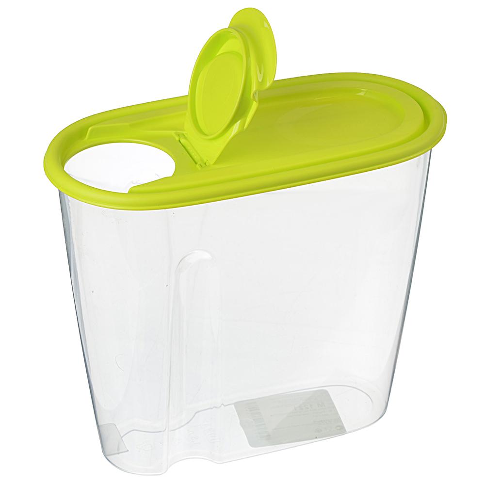 Емкость для сыпучих продуктов 1,5л, пластик, М1221
