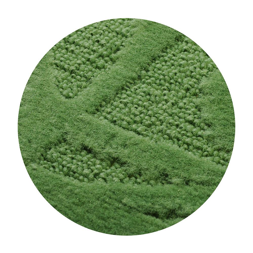 SonWelle Коврик для ванной ВЕТКА 50х70см полипропилен зеленый