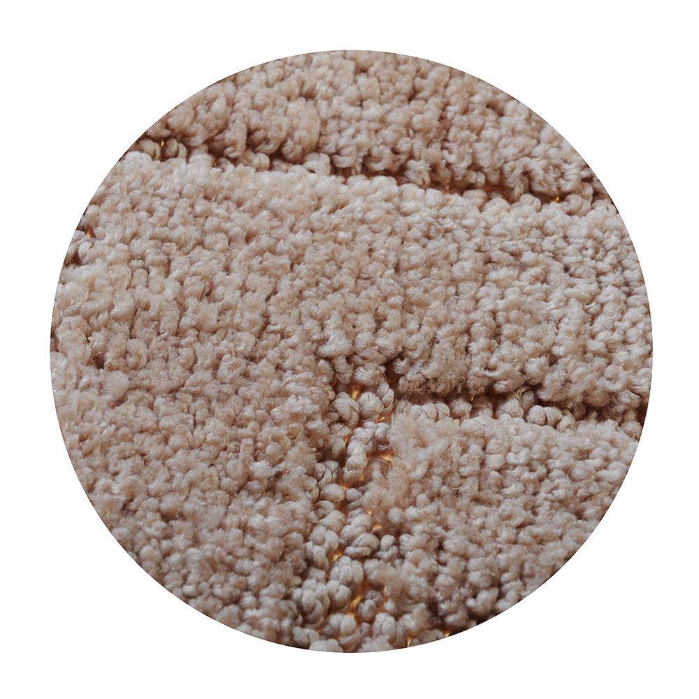 SonWelle Набор ковриков для ванной ТОП 50х70см + 40х50см микрофибра беж
