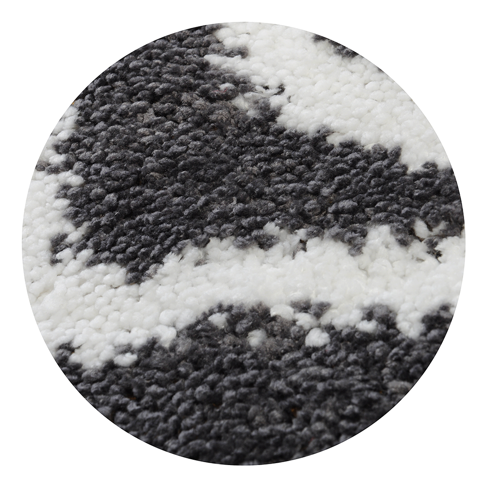 SonWelle Коврик для ванной ОРНАМЕНТ 50х75см серый