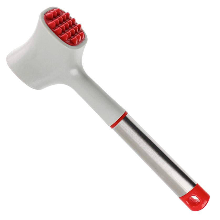 SATOSHI Премьер Молоток отбивной 23,6х7,5см, нейлон, ручка нерж.сталь, пластик