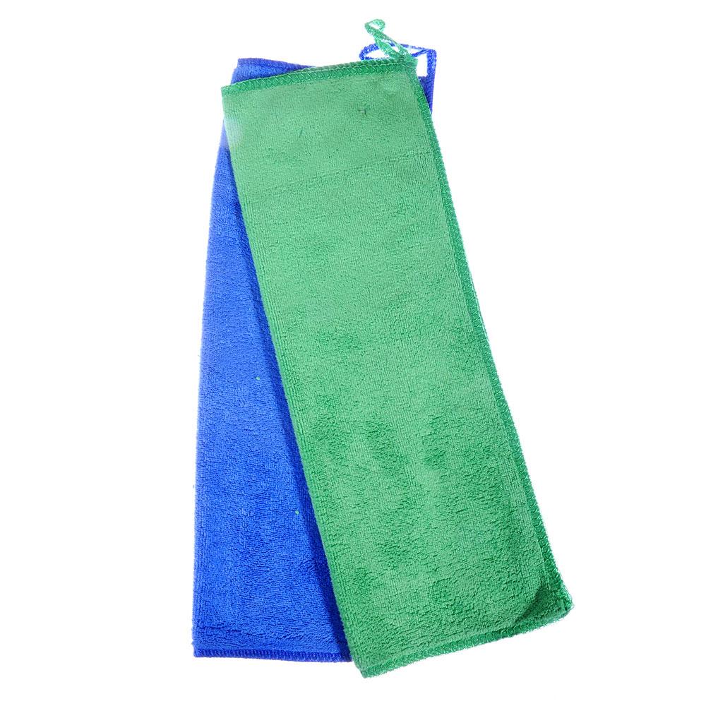 Набор салфеток для мониторов из микрофибры 2 шт, 25х35 см, 350 гр./кв.м, 3 цвета, VETTA