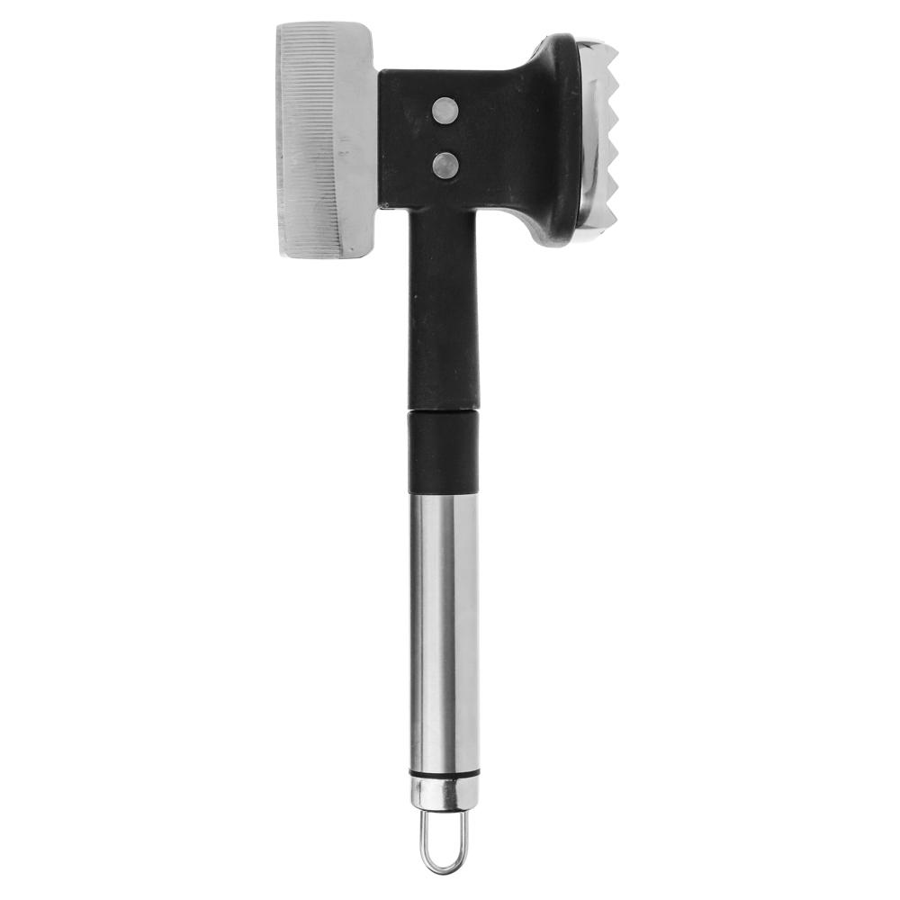 Топор кухонный с молотком для отбивания мяса, нержавеющая сталь, Альфа SATOSHI