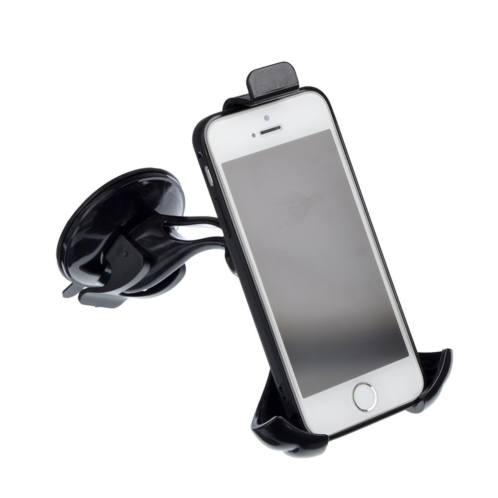 ОКАМИ Держатель телефона, раздвижной, шир 50-90мм, выс 126-190мм крепление- присоска, блистер