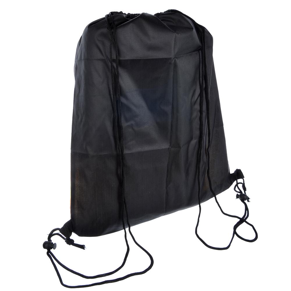 Мешок для сменной обуви, на завязках с фиксаторами 34,8x41,5 см, полиэстер, СПЕЙС ФУТБОЛ