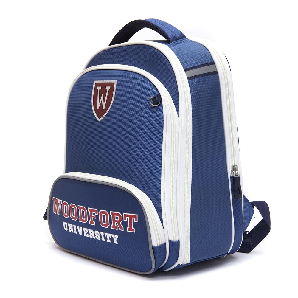 Школьный рюкзак для мальчика, 38x30x20см, жесткий каркас, СЕНСЭЙШН ВУДФОРТ