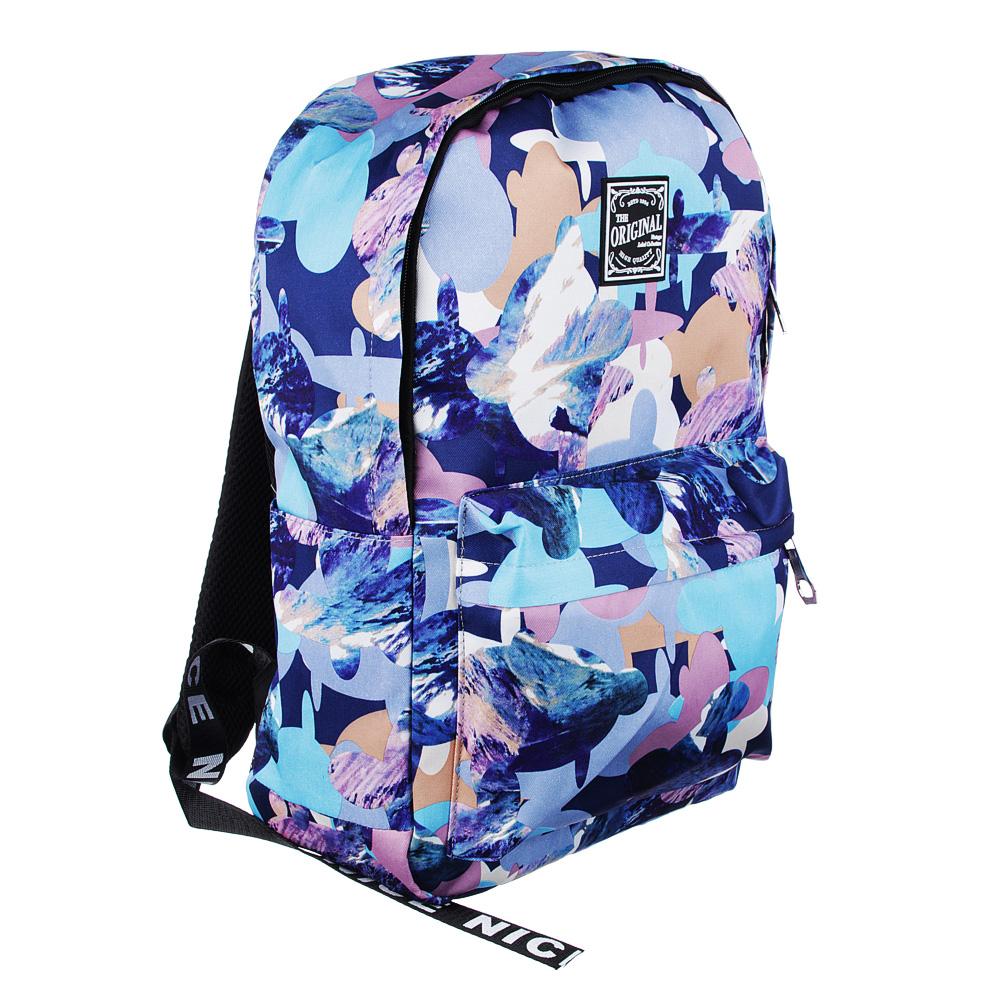 Рюкзак 45x32x15 см с 1 отделением, нейлон, с рисунком