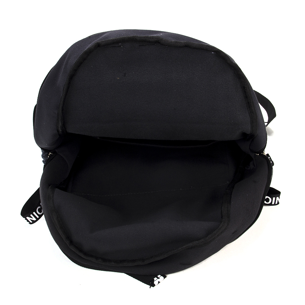 Рюкзак подростковый 45x32x15см, 1 отд., 3 кармана, нейлон, серый