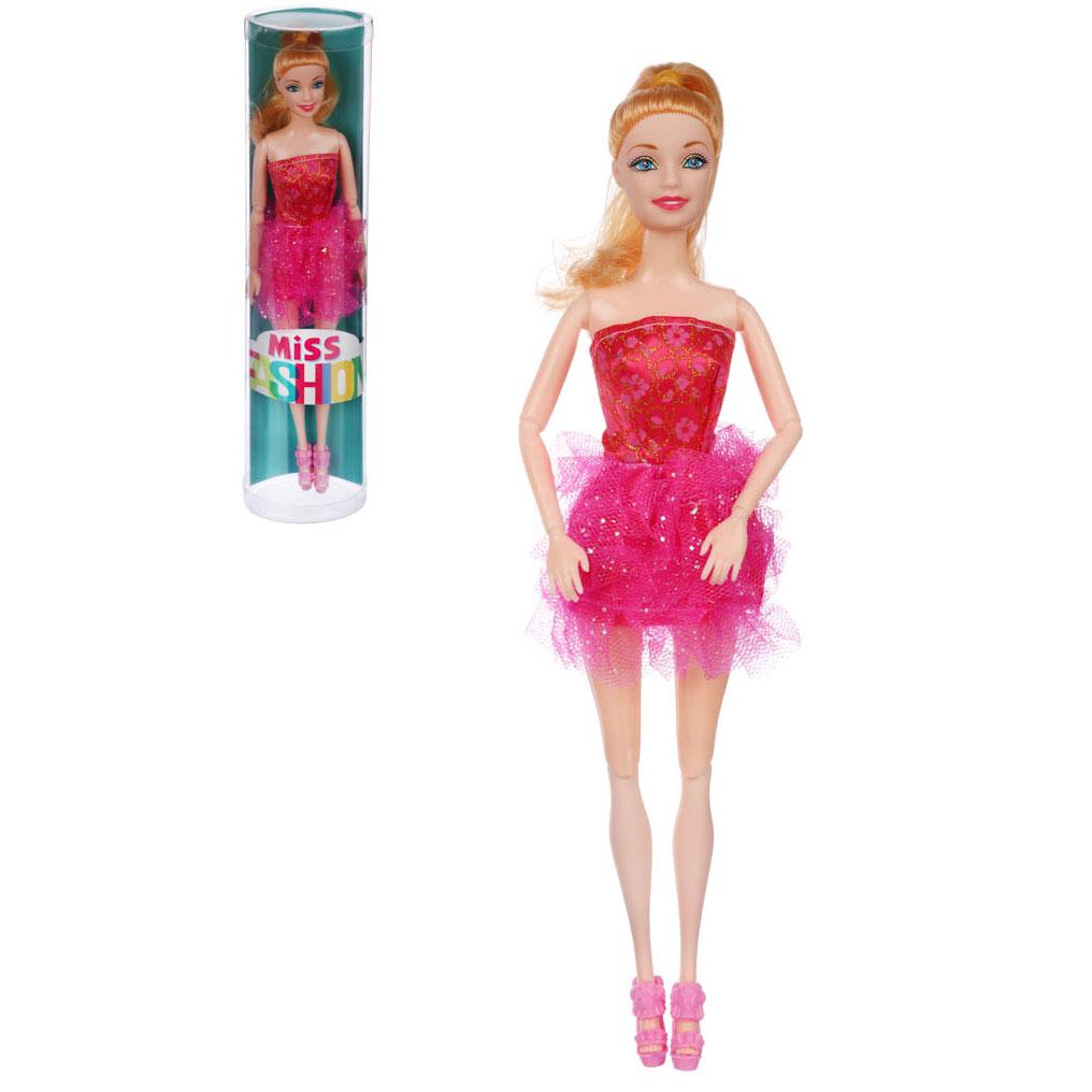 ИГРОЛЕНД Кукла шарнирная, 29см, пластик, полиэстер, 8х32,5х5см, 2-6 дизайнов