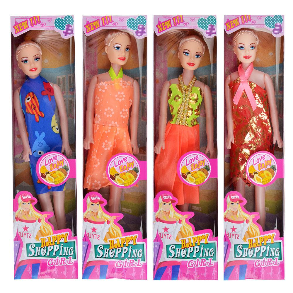 Кукла, пластик, 29см, 4 дизайна, YT12025