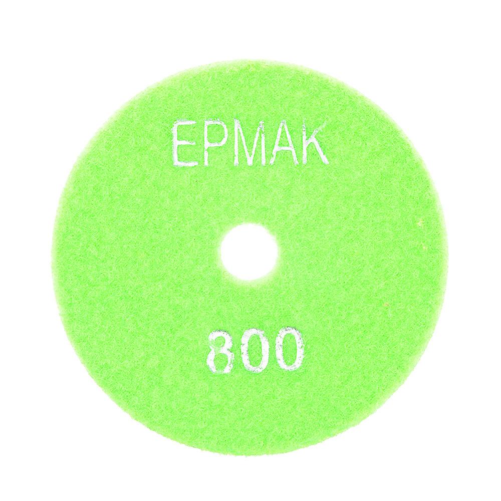 """ЕРМАК Круг алмазный, гибкий шлифовальный, полировальный """"Черепашка"""" 100мм №800"""