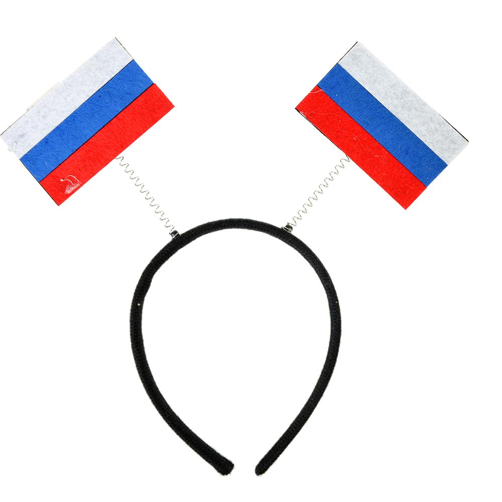"""Ободок болельщика, """"Россия"""", пластик"""