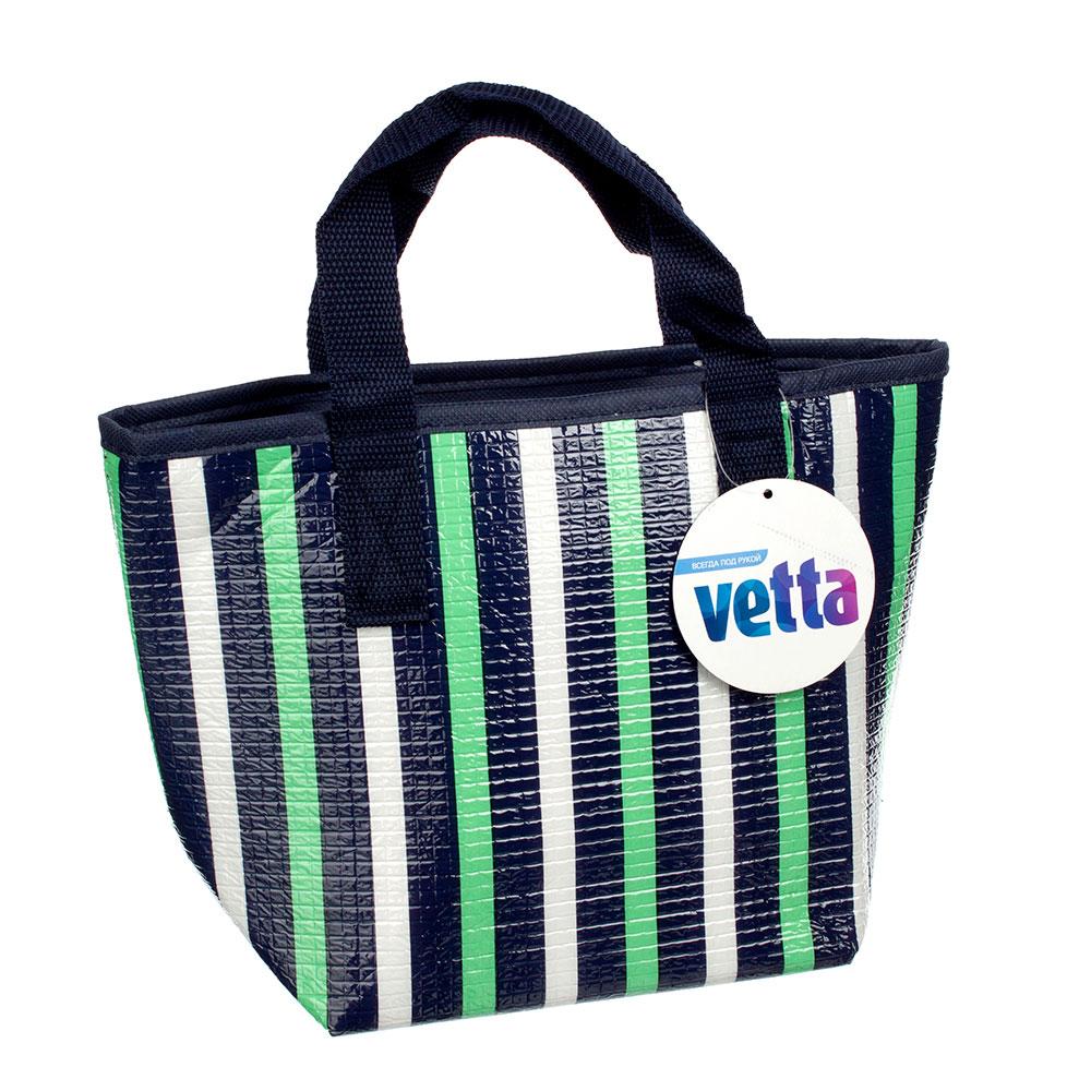 VETTA Термо-сумка, полиэтилен, фольга, 30х20х12см, 2 дизайна