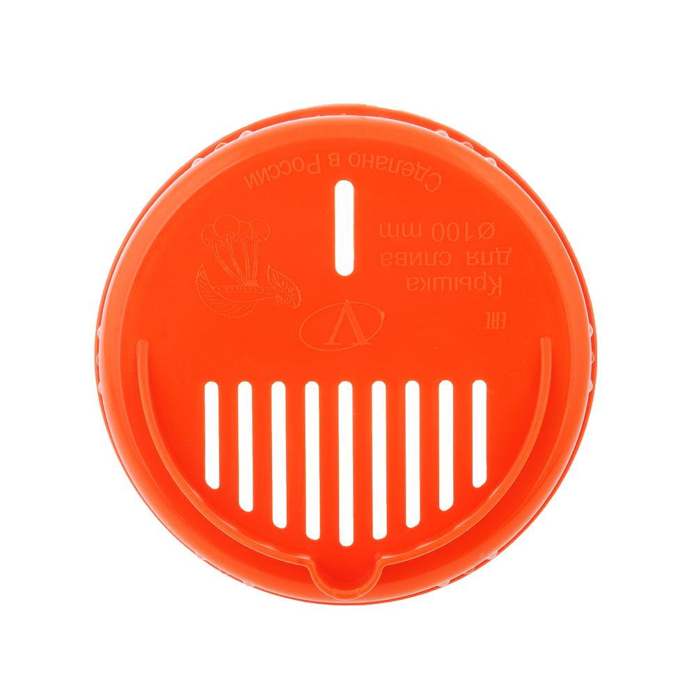 Крышка пластиковая для слива Твист-офф d100мм