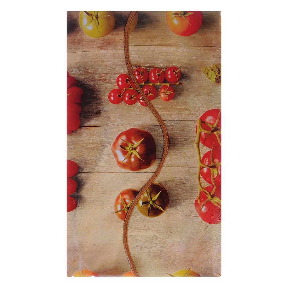 VETTA Скатерть виниловая тиснёная с каймой, 110х140см, овощи