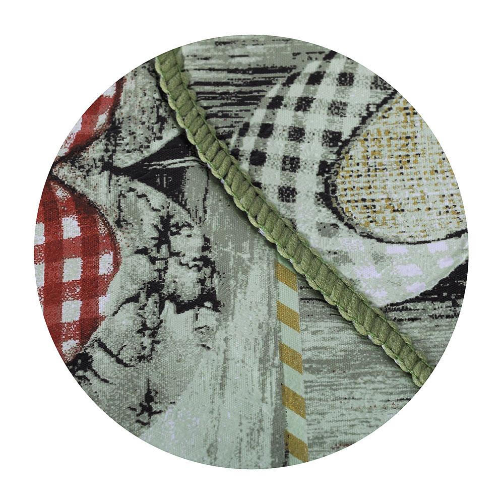 VETTA Скатерть виниловая с каймой, 137x182см, сердца