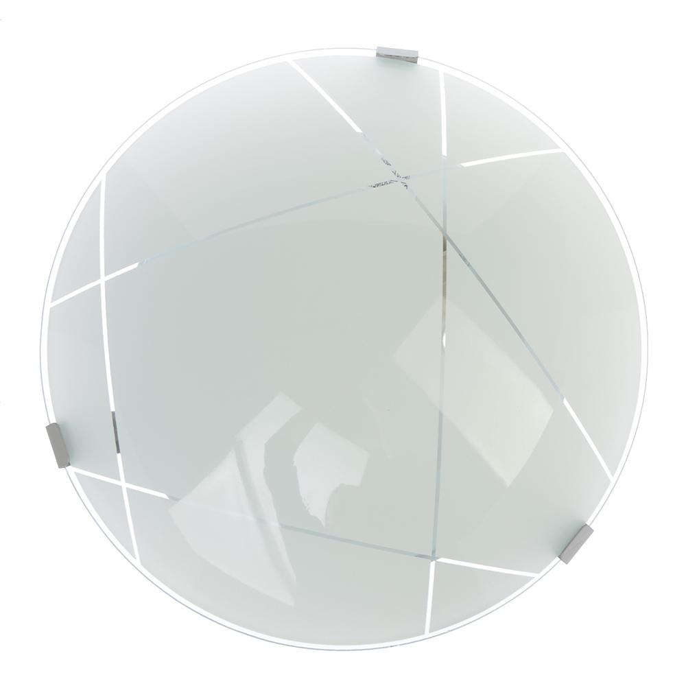 Светильник Контур 250мм, 25,5х25,5х11,5см, 60Вт, E27, стекло, металл